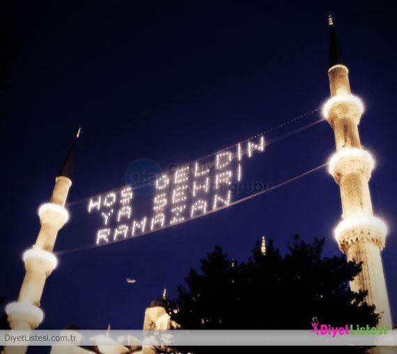 Mübarek Ramazan geldi. Antalya için Ramazan İmsakiyesi   Antalya ...