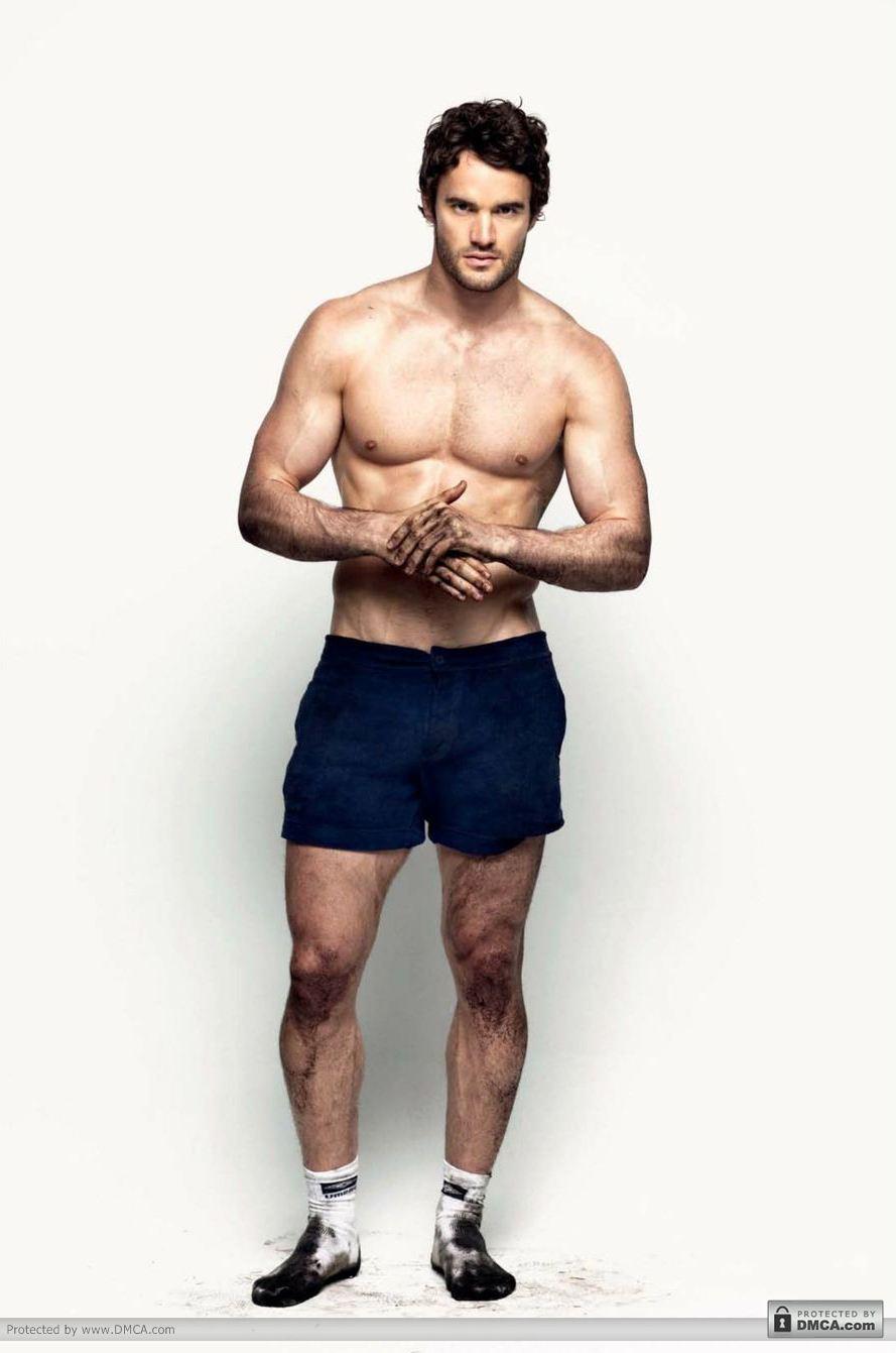 thom evans atlet rugby seksi model majalah attitude hot tanpa baju ...