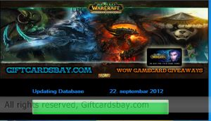 World of warcraft time gamecard generator