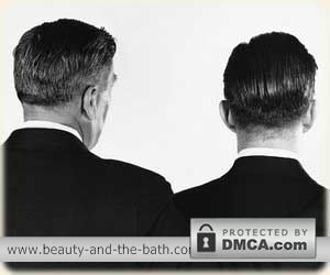 mens 1950s hairstyles back view