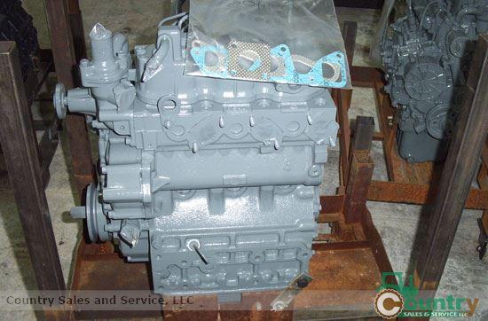 Bobcat 643 Skid Loader: Kubota D1402BR-BC Rebuilt Engine