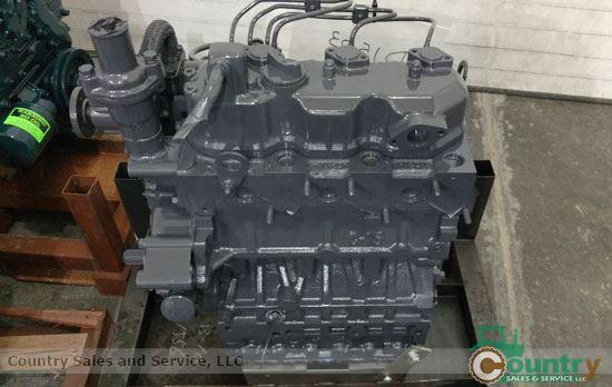 Kubota D1403ER-GEN Rebuilt Engine: L455 New Holland Skid Steer Late