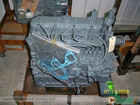 Kubota V1902BR-GEN Rebuilt Engine: New Holland L555 & L553