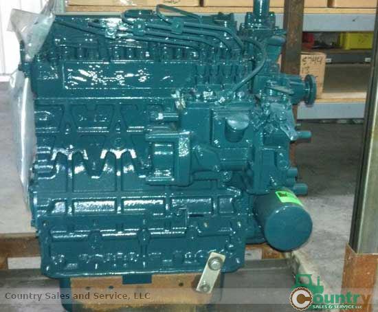 Kubota V2203DIR-GEN Rebuilt Engine: Case 1838 Skid Loader