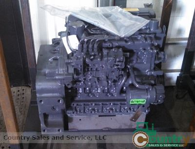 Kubota V2607TDI Rebuilt Engine Tier 4: Bobcat T190, S160