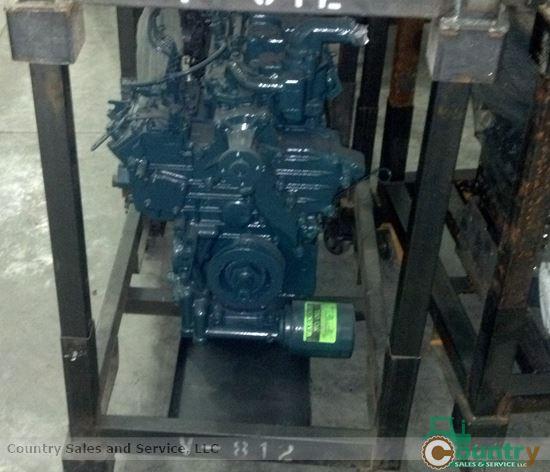 Kubota D1503MER-AG Rebuilt Engine: Kubota L2900, L3000, L3010 Tractor