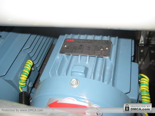 Двигатель ABB. Станок для обработки кромки стекла Enkong ZM9.