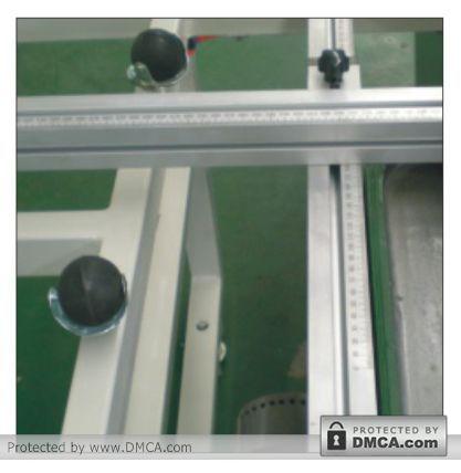 Линейки-упоры. Станок для сверления стекла Enkong ZJ130.