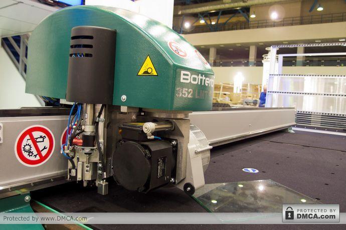 Автоматический стол раскроя Bottero 352 EVO. Голова.