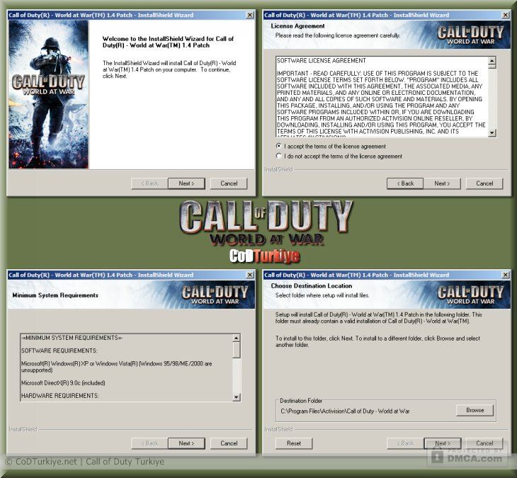 Call Of duty World At War 17 no DvD crack / Fixed ExE