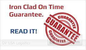 Iron Clad On Time Guarantee