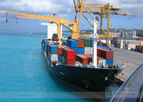 Custom 3PL Providers and Cargo Ship Loaded With Containers
