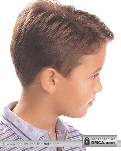 side boys short hairstyle