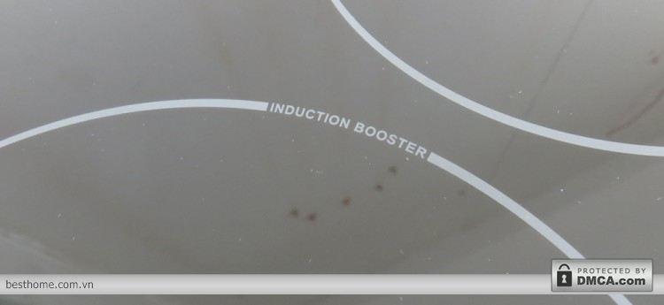 Chức năng Booster của bếp từ Cata I753BK