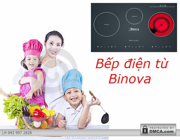 Đánh giá nhanh các tính năng nổi bật của bếp điện từ Binova