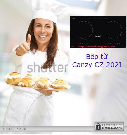 Tìm hiểu về những tiện ích thú vị của bếp từ Canzy CZ 202I
