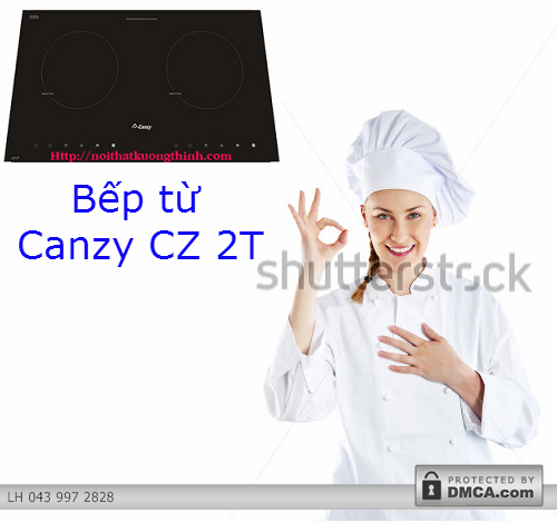 Bếp từ Canzy CZ 2T: Chiếm chọn trái tim người tiêu dùng