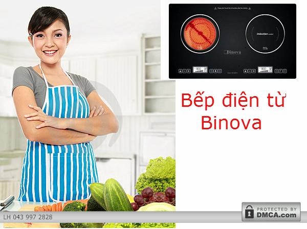 Lý do bạn nên sử dụng bếp điện từ Binova