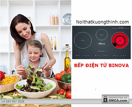 Tổng hợp những ưu điểm nổi bật của bếp điện từ Binova