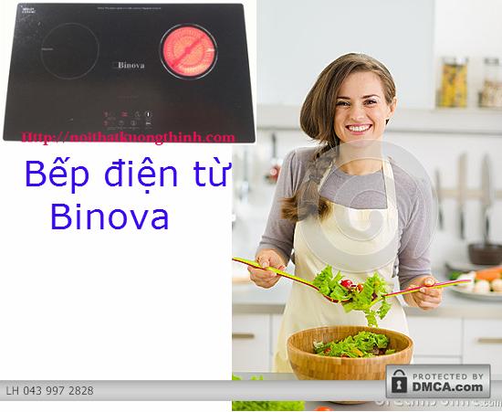 Bếp điện từ Binova là dòng sản phẩm bếp điện từ nhập khẩu Châu Âu mang tính đột phá với nhiều tiện ích nổi bật, cùng nhiều kiểu dáng được thiết kế hết sức đa dạng đã để lại những ấn tượng sâu sắc trong lòng người tiêu dùng. Tuy nhiên, câu hỏi đầu tiên mà nhiều khách hàng đặt ra khi quan tâm đến sản phẩm bếp điện từ Binova đó là không biết là có nên mua và sử dụng chiếc bếp này không? Trong bài viết sau đây, chúng tôi xin đưa ra các lý do thuyết phục để sở hữu chiếc bếp điện từ Binova này và có thể giải đáp được một số thắc mắc của các bạn. Tổng hợp các ưu điểm nổi bật của bếp điện từ Binova Bếp điện từ Binova: Dòng sản phẩm của thời đại mới Với sự kết hợp hài hòa giữa vùng nấu hồng ngoại và vùng nấu từ bếp điện từ Binova tạo cho người dùng nhiều trải nghiệm vô cùng hấp dẫn với niềm đam mê nội trợ. Vùng nấu từ của bếp điện từ Binova có thể đun nấu được khi chất liệu của xoong nồi nấu được làm bằng chất liệu là một hợp kim của sắt. Trong khi đó với vùng nấu hồng ngoại, bếp điện từ Binova có thể thích ứng với tất cả các loại xoong nồi được làm từ hợp kim rắn có khả năng chịu được nhiệt độ cao.  Một ưu điểm tuyệt vời hơn nữa của bếp điện từ Binova đó là các món nướng có thể thực hiện trên vùng hồng ngoại của bếp một cách hợp vệ sinh và dễ dàng lau chùi mà vẫn đảm bảo độ ngon của món ăn, không còn lo ngại khi đồ nướng có mùi từ khói than bay lên như những chiếc bếp nướng truyền thống. Bếp điện từ Binova: Thiết kế hiện đại và sang trọng Các sản phẩm bếp điện từ Binova có thiết kế nhiều kiểu dáng đa dạng và phong phú, được thiết kế đặc biệt hiện đại và sang trọng. Bếp điện từ Binova có bề mặt được làm bằng mặt kính SchottCrean là một mặt phẳng nhẵn, vì vậy rất dễ dàng làm sạch, khi vệ sinh bếp điện từ Binova người dùng chỉ cần dùng mút vệ sinh chuyên dụng cho bếp điện từ miết nhẹ vào chỗ bẩn, những vết bẩn sẽ biến mất nhanh chóng.  Bếp điện từ Binova: Sở hữu nhiều chức năng tiện dụng Sử dụng chip điều khiển công nghệ cao của Đức, bếp điện từ Binova cung cấp chức năng điều 