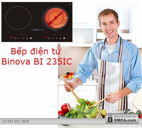 Bếp điện từ Binova BI 235IC và những tiện ích hấp dẫn cho người dùng